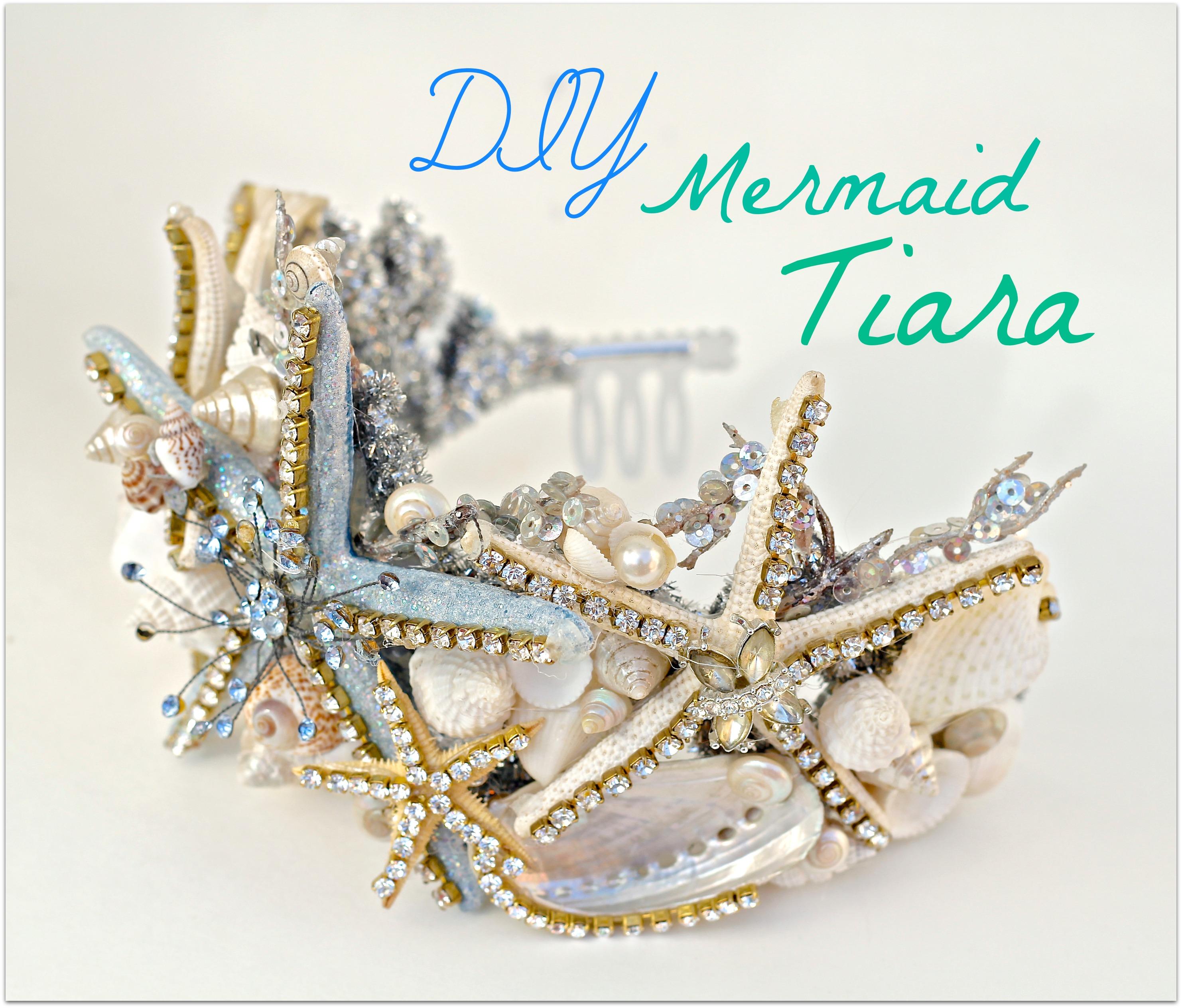 DIY Mermaid Tiara From The Dollar Store Debis Design Diary