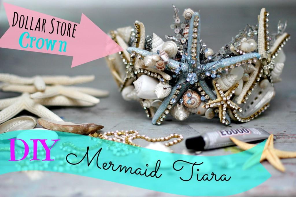 mermaid tiara DIY new