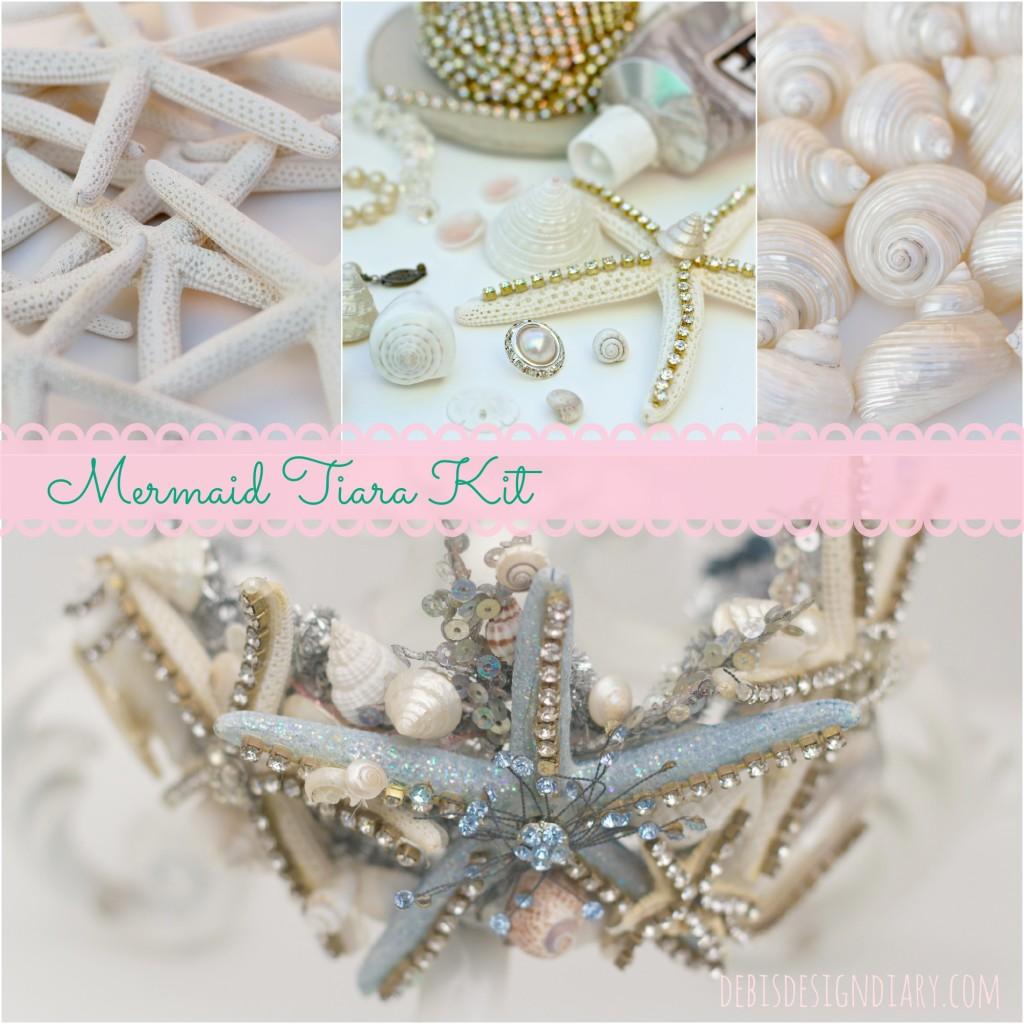 mermaid tiara kit