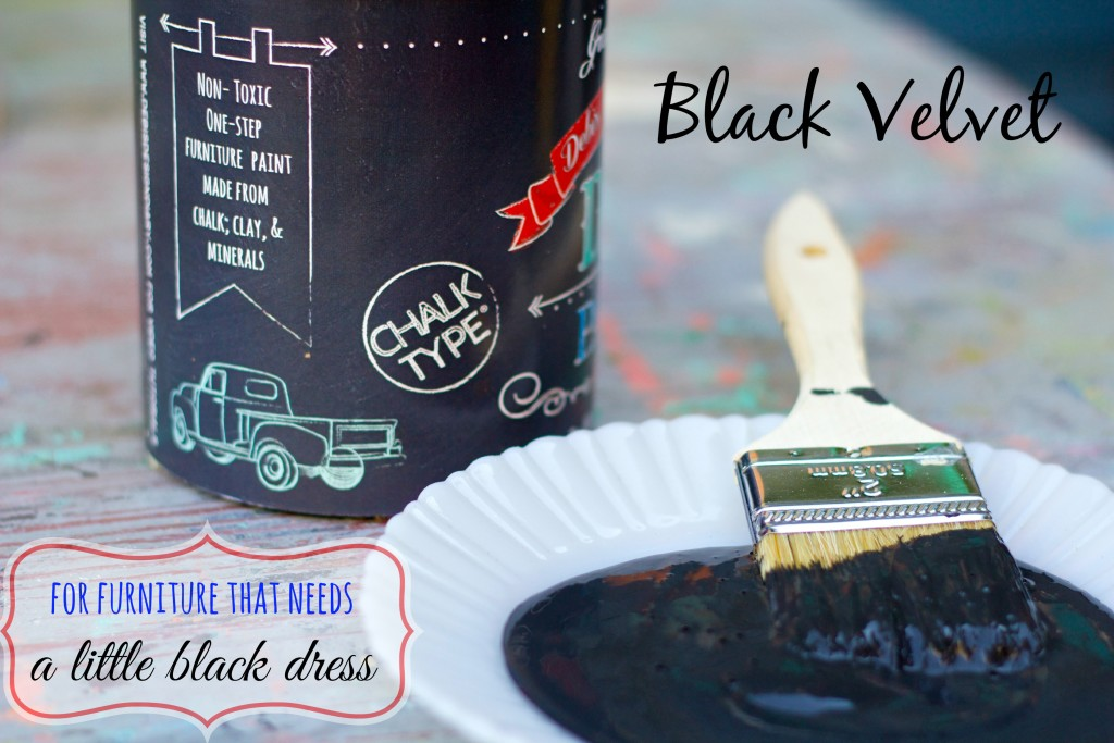 black velvet can side