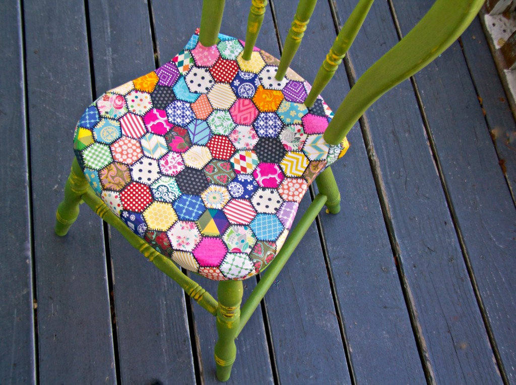 quilt chair for gawker