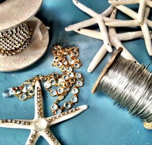 starfish chandelier supplies