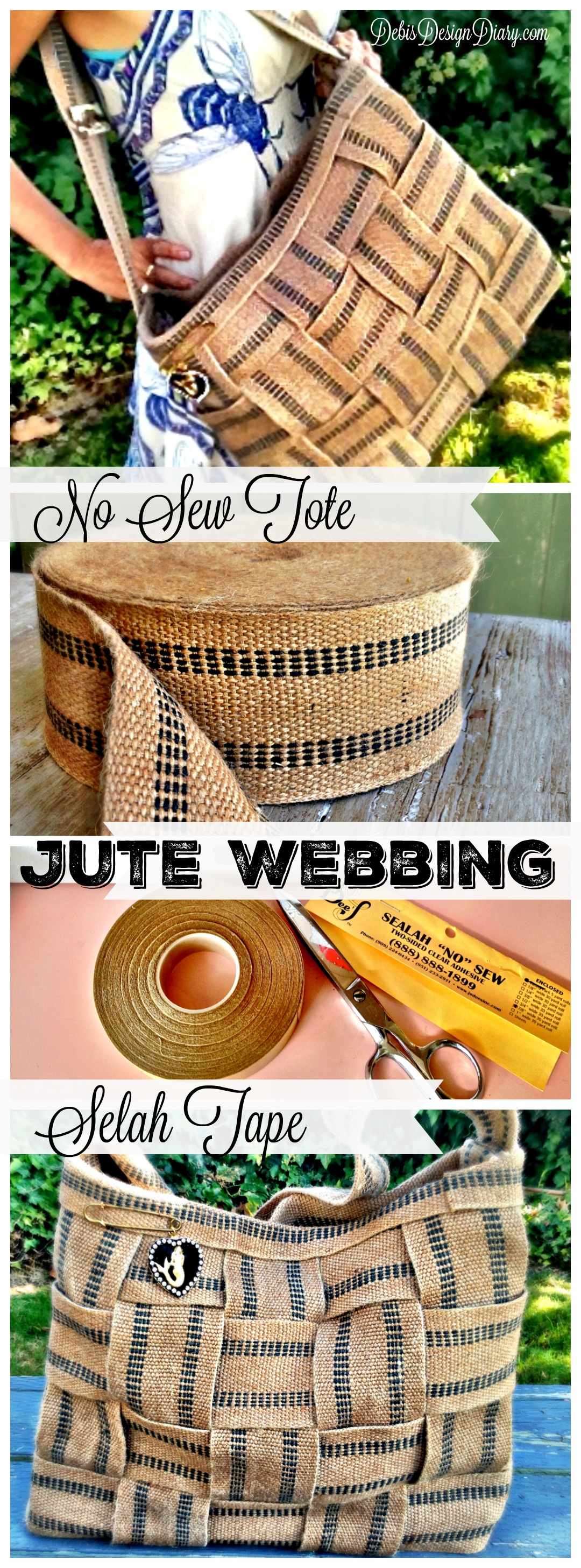 How to make a jute webbin