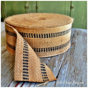 how to make a jute webbing tote bag