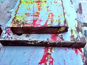 chippy paint finish