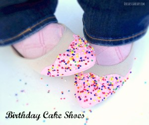 how to make cake shoes