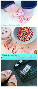 make cake shoes with poly