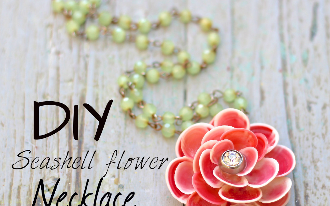How to make a Seashell Flower Necklace