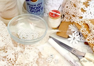 lace sugar skull supplies