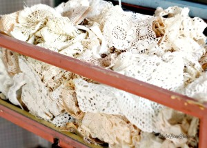 vintage lace for sugar skull