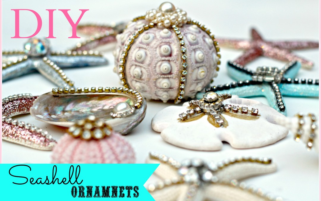 Seashell Ornaments and the supplies to make your own!