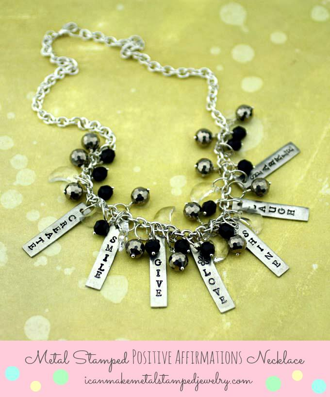 Positive Affirmations Necklace