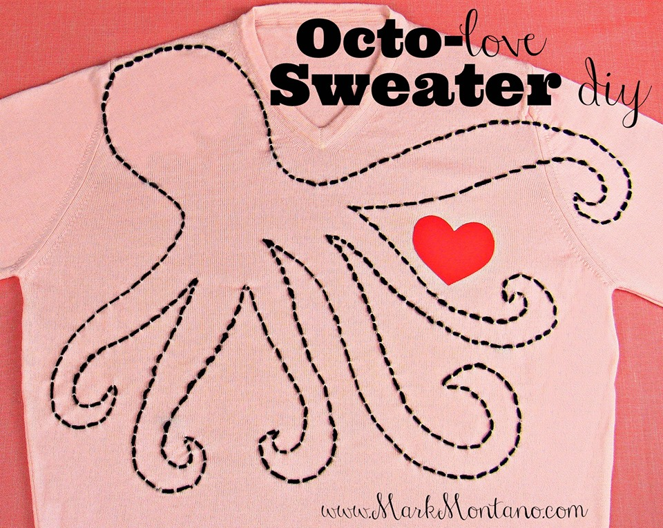octopus love sweater