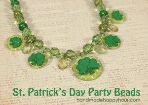 St Patrick's Day Beads