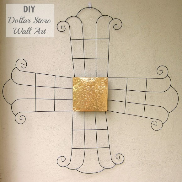 metal wall art cross