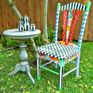 whimsical chair & Itu0027s a Lucky Charm of a Week. DIY Round Up! | Debis Design Diary