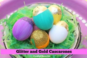 glitter & gold cascarones