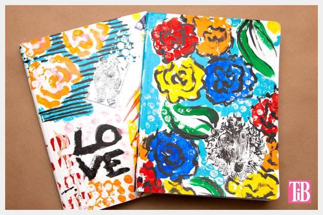stamped journals