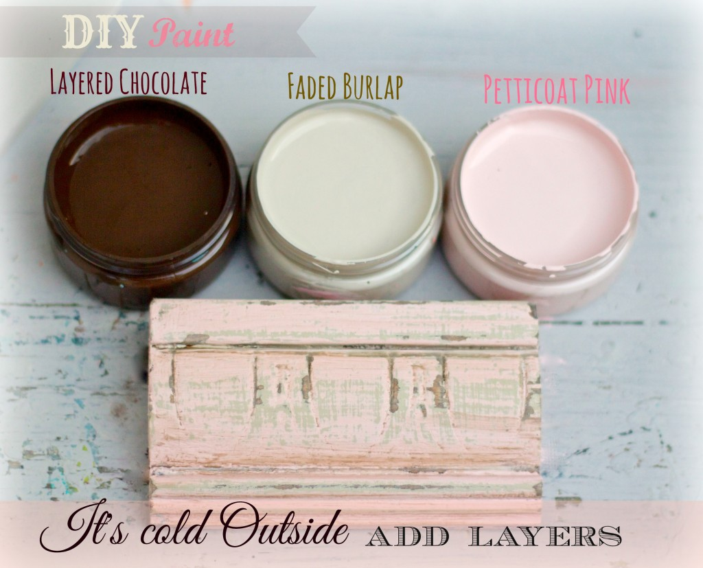 DIY paint add layers