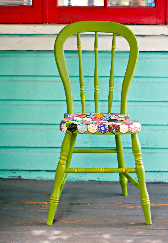 diy decoupage furniture. Quilt Chair CG #5 Diy Decoupage Furniture H