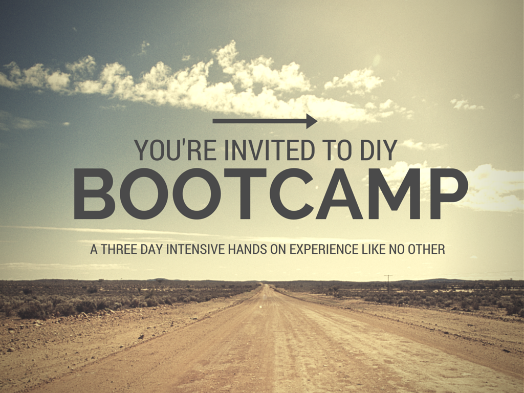 Bootcamp invitation