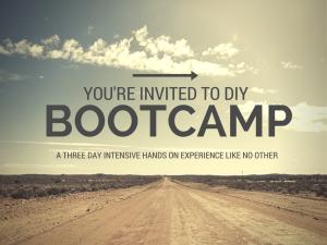 Bootcamp invitation