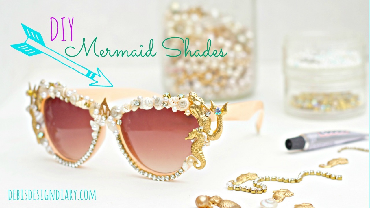 Diy Mermaid Sunglasses Craft Kit Debis Design Diary