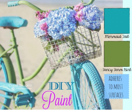 DIY Paint fancy farm girl and Mermaid