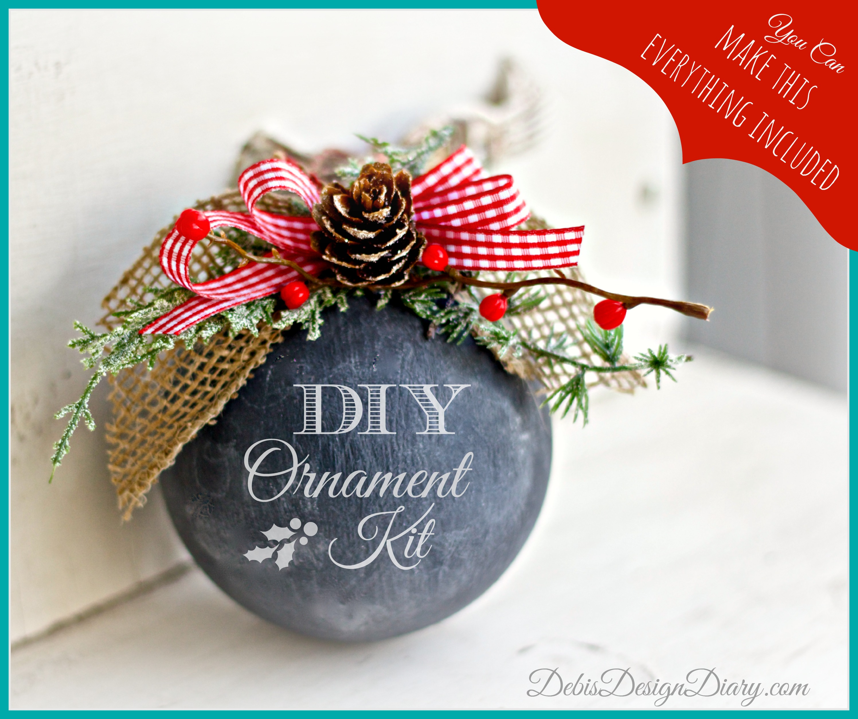 chalkboard ornament kit 3