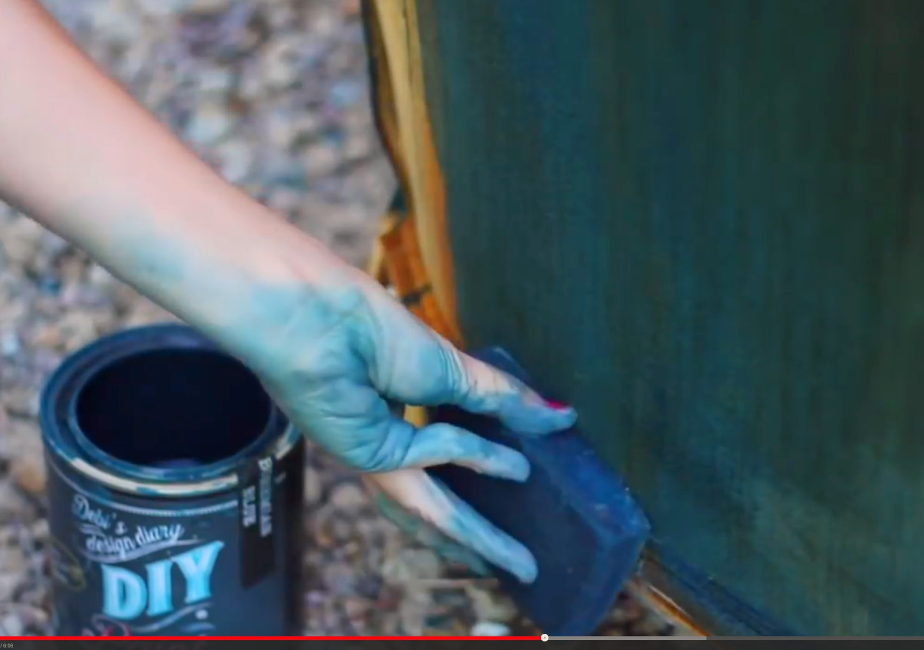 How to paint a couch or upholstery | Debis Design Diary