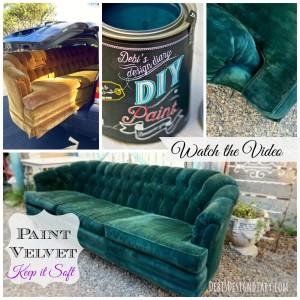 velvet sofa collage for instagram