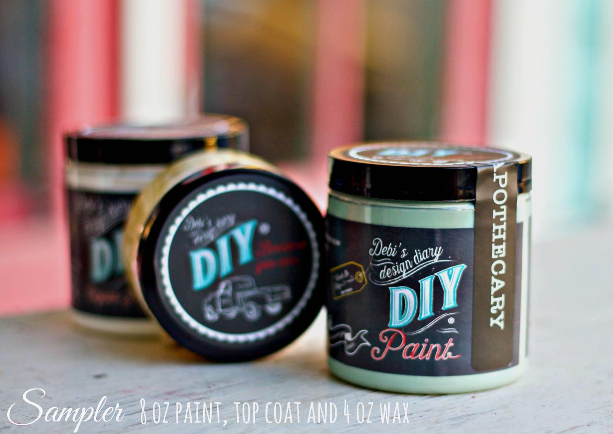 DIY paint debi's design diary