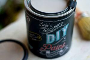 Faded Burlap DIY Paint