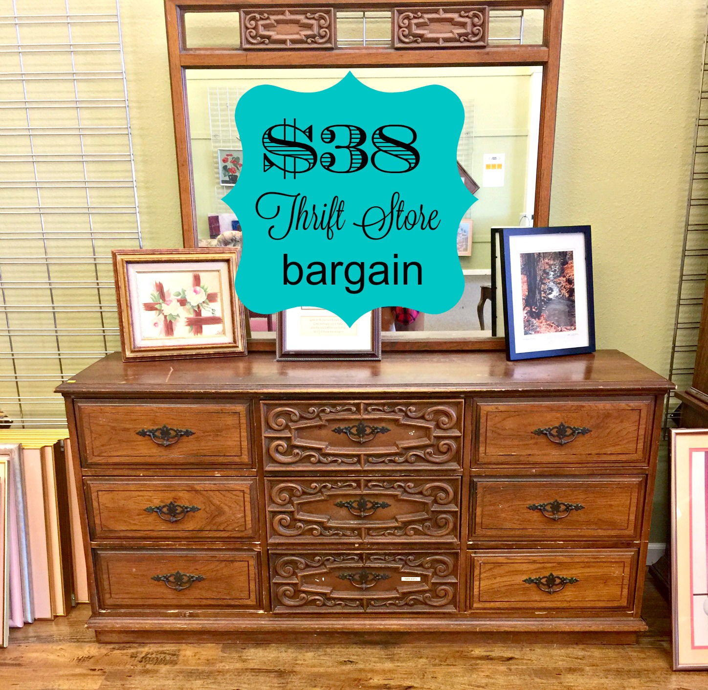 french thrift with twist store gets a inspired dresser upcycled makeover