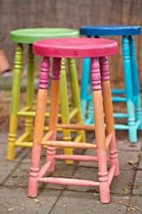 ombre bar stools