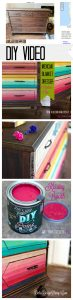 DIY paint ombre how to blend color