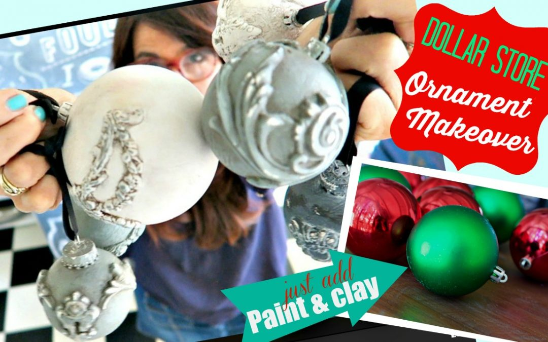 Dollar Store Craft Makeover with fancy Molds and DIY Paint!