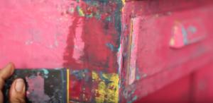 chippy paint finish dionne