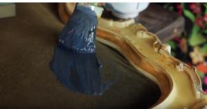 Velvet Headboard brush