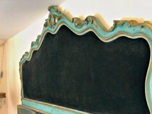 Headboard Bed just velvet