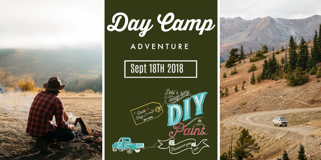 DIY DAY CAMP Tickets Now Available!