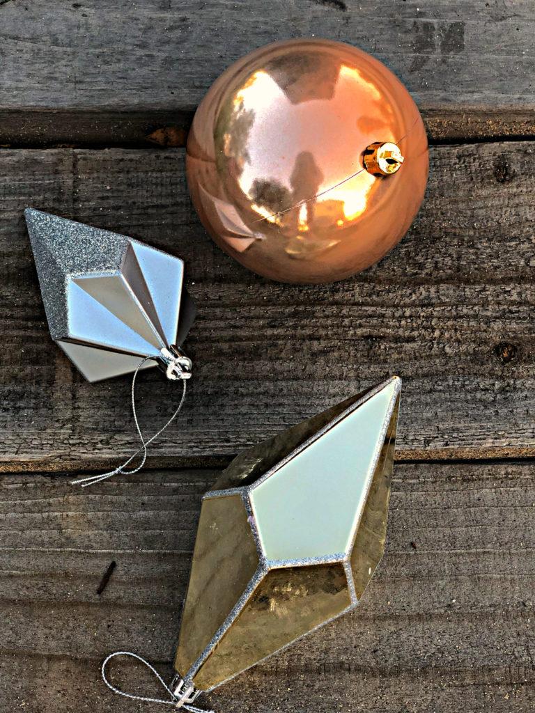 DIY ornaments unpainted