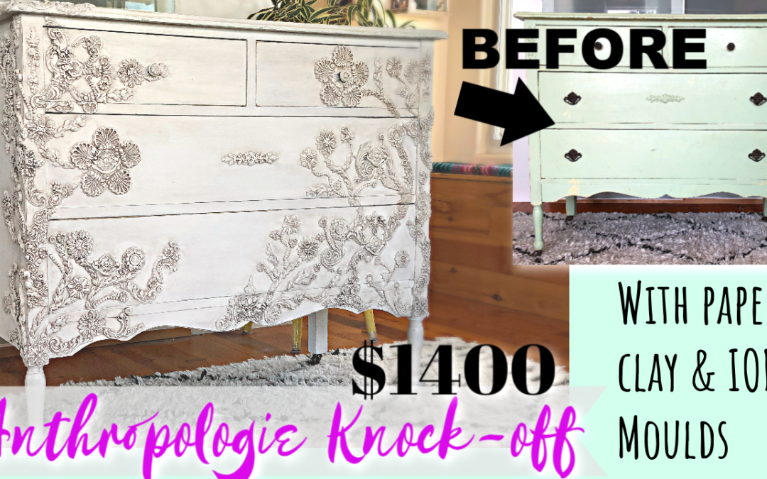Wedding Cake Dresser Makeover & My Sugar Addiction Story